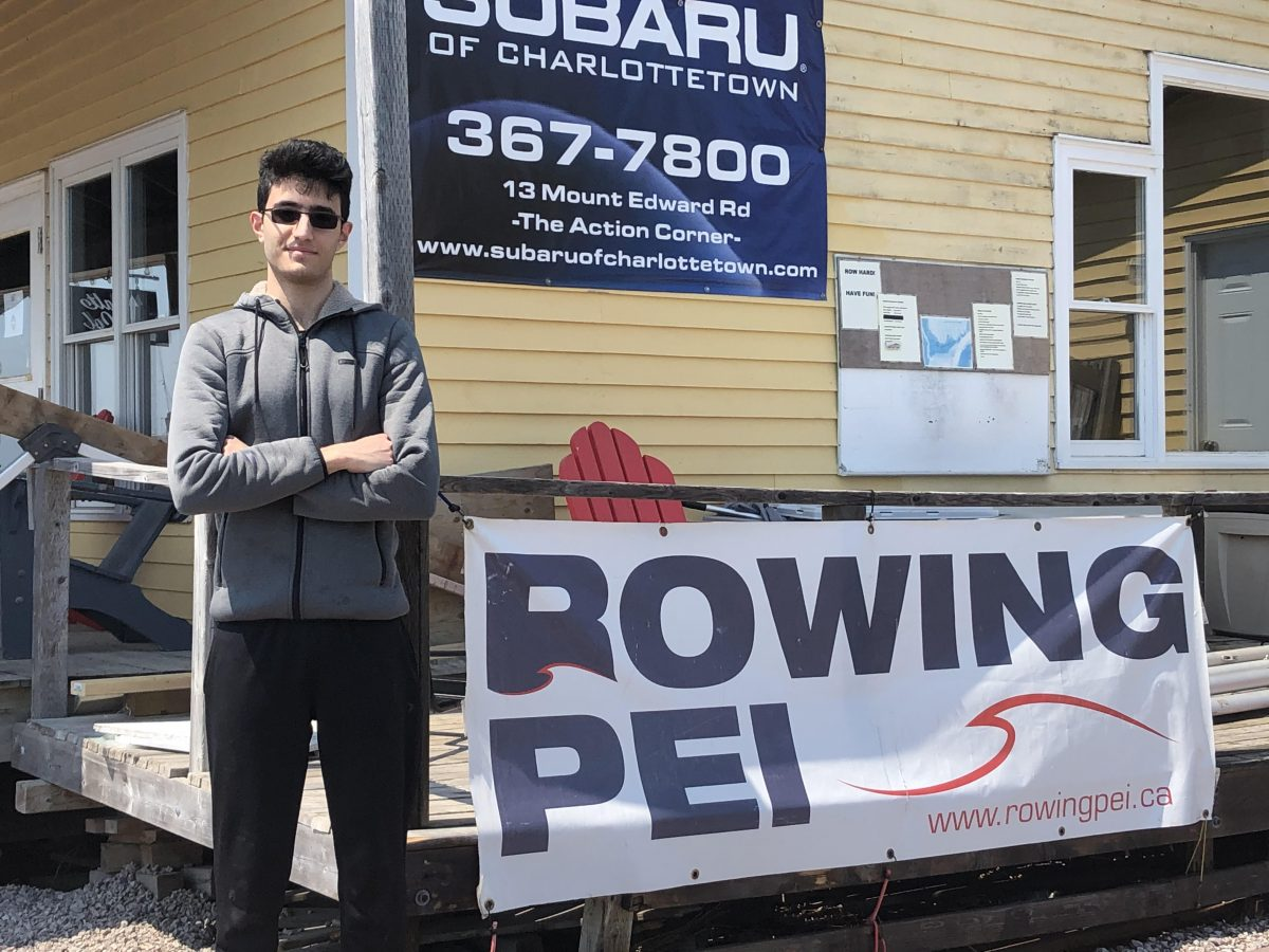 Meet Rowing PEI summer student Sohrab Saegh!
